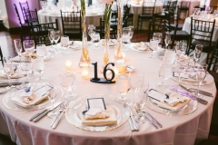 Centerpiece , Mimosa Florals , Pink and Gold , The State Room , Boston , JD Designs , Boston Wedding , Shane Godfrey Photography