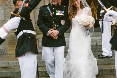 Ceremony , Military Arch , The State Room , Boston , JD Designs , Boston Wedding , Shane Godfrey Photography