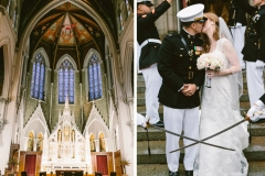 Collage , Military Wedding , Church , The State Room , Boston , JD Designs , Boston Wedding , Shane Godfrey Photography , Ceremony