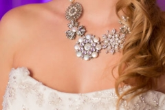 Details , Purple , Lighting , Lombardos , Boston , JD Designs , Boston Wedding , Lea St Germain Photography , bella sera bridal and occasions , necklace , accessories , makeup by carmina,