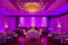 Reception , Purple , Lighting , Lombardos , Boston , JD Designs , Boston Wedding , Lea St Germain Photography
