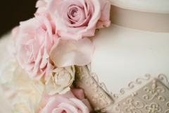 Wedding Cake , Pink , Blush ,Gold , The State Room , Boston , JD Designs , Boston Wedding , Shane Godfrey Photography