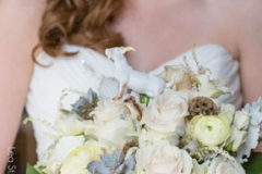aneomes , garden roses , pastel ,  farm , barn , jd designs , lea st germain photography , nh wedding , rustic , kitz farm , pastel , gray , bridal bouquet , bride