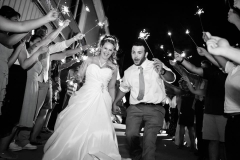 black and white , send off , sparklers , bride and groom ,beach , groom ,, jd designs , woods photodesign , ocean, seaglass , salisbury , music hall
