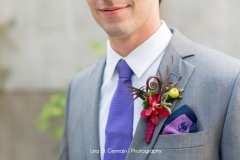 boutonnieres , purple , groom , details ,  garden , botanical , jd designs , lea st germain photography , tower hill botanic garden , boho chic
