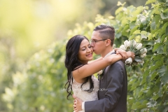 bride and groom, first look, Details , Willow Spring Vineyard, Boston , JD Designs , Boston Wedding , Lea St Germain Photography, first kiss outdoor, vineyard, rustic, chic, vines