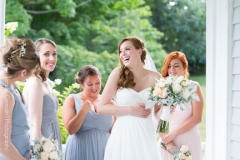 bride , wedding party , farm , barn , jd designs , lea st germain photography , nh wedding , rustic , kitz farm , bridesmaids