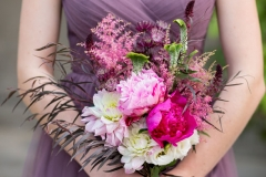 bridesmaid , tatoo , purple , pink , peonies , garden , botanical , jd designs , lea st germain photography , tower hill botanic garden , boho chic