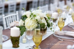 centerpiece , yellow , green , moss , kinship , amber , goblet , new england country rentals , garden , botanical , jd designs , lea st germain photography , tower hill botanic garden , boho chic