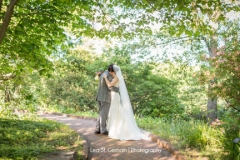 i do , just married , bride and groom , first look ,  garden , botanical , jd designs , lea st germain photography , tower hill botanic garden , boho chic