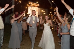 send off , bride and groom , sparklers , farm , barn , jd designs , lea st germain photography , nh wedding , rustic , kitz farm