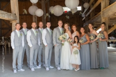 wedding party , farm , barn , jd designs , lea st germain photography , nh wedding , rustic , kitz farm