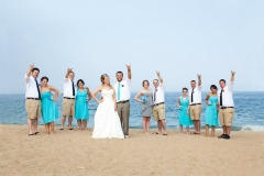 wedding party , rock n roll , beach , jd designs , woods photodesign , ocean, seaglass , salisbury , music hall