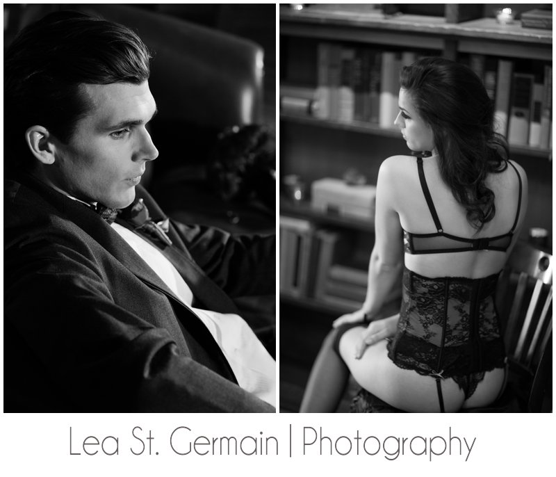 lea st germain photography , gibees , fifty shades of grey , black and white, lingerie , jd designs , stylist , fashion , creative director , marketing , smith and wollensky